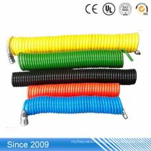 ПУ спиральный воздушный шланг пневматический спиральный полиуретановый трубопровод