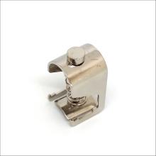 DIN rails use EMC Shield cable clamper