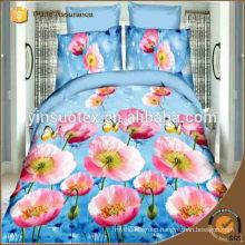American style luxury flower parttern bedding set,polyester bedding set