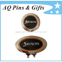 Soft Enamel Hat Clip with Ball Marker (Golf-19)