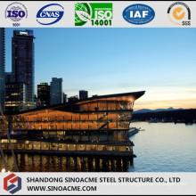 Modern Design Steel Structure Five Star Hotel Building