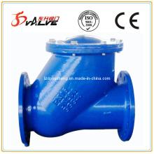 Фланцевые шаровые обратные клапаны, Pn16, корпус DI, покрытие шариком: NBR