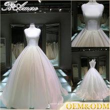 Guangzhou Romance Sweetheart Neck Vestidos de casamento para mulheres maduras