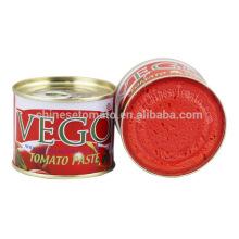 70 G Vego Fabricante De Pasta De Tomate Em Conserva Chinesa De 2016 Nova Colheita