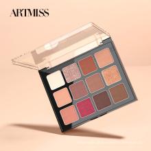 ARTMISS Make-up Palette Vegan High Pigment Lidschatten Palette