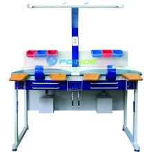 Équipements de laboratoire dentaire (Modèle: Poste de travail (double) AX-JT5) (homologué CE)