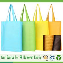 Tecido não tecido Spunbond para sacola de compras