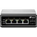 Industrieller Full-Gigabit-POE-Switch mit 5 Ports