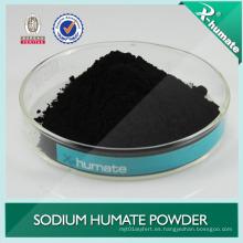 Súper sodio Humate utilizado en cerámica, acuicultura, fertilizante orgánico