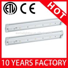 Современный дизайн светодиодной настроить теплый белый светодиодный шкаф освещения ETL Список шкаф огни