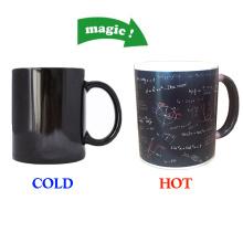 Mathematical formula mug,Heat Sensitive Mug Color Changing Magic Coffee Mug