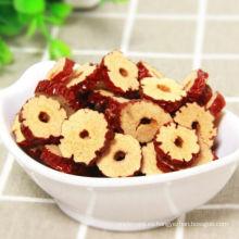 Pieza de azufaifa roja seca