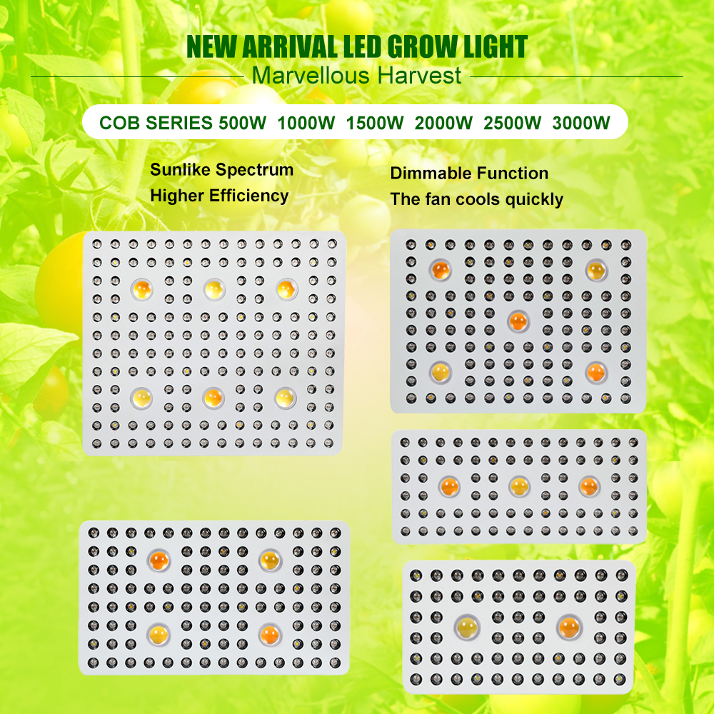 3000watt Led Cob Grow Lamps