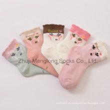 Летом стиль сетки дизайн хлопчатобумажные носки с узором оленей