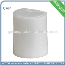 Weiße Farbe 24/415 Kappe oben Knöpfe Scheibe oben Kappe Plastikschraubenkappe für Flasche