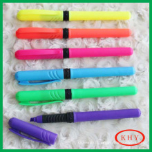 Promotional gift high quality multi color highlighter