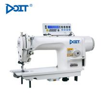 DT 8800D Máquina de coser industrial de puntada de cadeneta de una sola aguja de alta velocidad con la máquina automática de corte automático sti