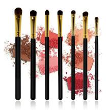 7pcs pinceles profesionales conjunto de pinceles de sombra de ojos Blender