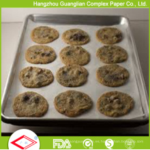 Las panaderías suministran papel de pergamino siliconado para cocinar