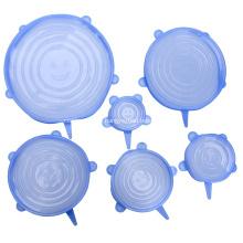 Capa extensível de silicone de grau alimentício para tigelas / xícaras