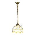 Dollhouse miniature traditional ceiling light