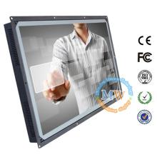 """Resolução 1920x1080 de 32 """"touch screen open frame monitor com alimentação via USB"""