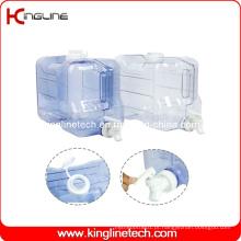 Congelador de 2 galões Congelador de água de plástico Atacado BPA Free with Spigot (KL-8010)