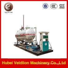 Factory ASME Design 20mt Mobile LPG Gas Refilling Station