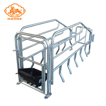 Hot Dip Galvanized Pig Farrowing Pen Crate
