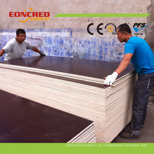 Madeira compensada do molde de 18mm / preço da madeira compensada marinha para a construção