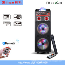 Popular Portable Karaoke Trolley Speaker Big Power 120W