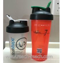 Licuadora proteína plástico agitador taza