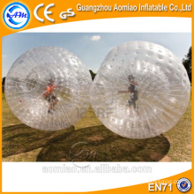 ¡Deportes locos !! Inflable zorb bola pista / inflable zorb bola / zorb bola venta