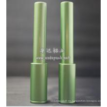 tubo cosmético de delineador de ojos vacío envase aluminio
