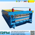 metal roof double layer roll forming machine