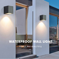 GU10  outdoor led wall light