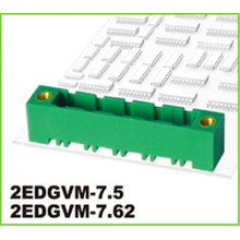7.62mm Konektor Pitch PCB Terminal Terminal Blok 3way