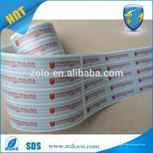 2016 porcelana alibaba customizada VOID segurança holograma adesivo impressão