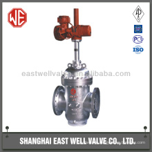 Stainless steel double disc flat plate gate valve