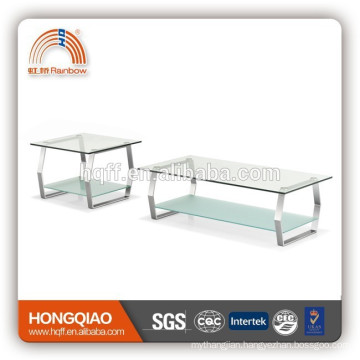 CT-03ET-03 tea table glass coffee table set