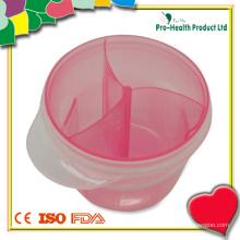 3 отсека Контейнер для хранения молочного порошка для младенца