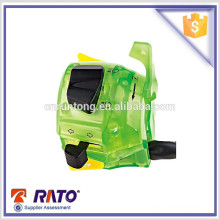 Professional manufacturer motorcycle green left headlight switch