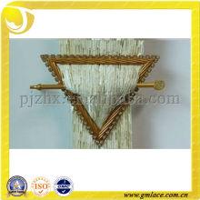 Hebilla de cortina de resina con diamante