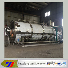 Stainless Steel Horizontal Type Autoclave Retort