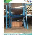 Elevador de carga de elevador de carga de riel estacionario de 3.0t 8m