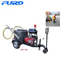 Máquina de sellado de grietas de asfalto tipo remolque de 100 l.