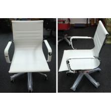 Chaises de bureau blanches réglables en cuir de haute qualité Guangzhou Foshan (FOH-F11-A09)