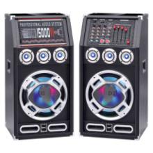 Modischer Big Power Bluetooth Aktiv DJ Karaoke Lautsprecher