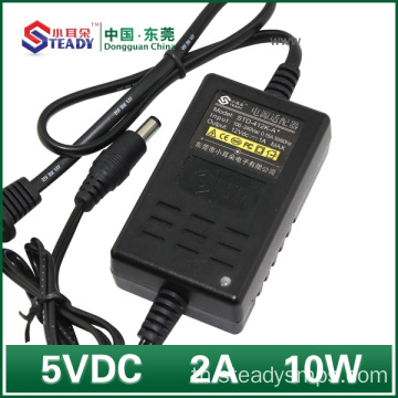 5VDC 2A Desktop Type Power Adapter
