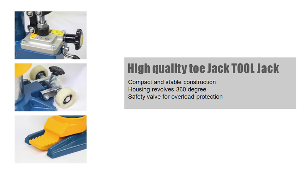 High quality toe jack